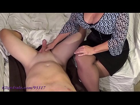 nude mature blonde clothed male