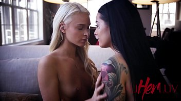 threesome sex with two lesbians